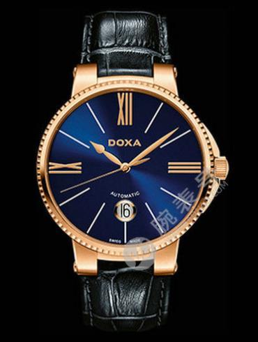 Doxa时度杜克系列130.90.202.03男表黑色表带