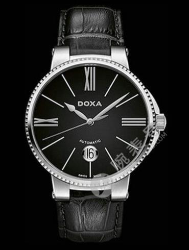 Doxa时度杜克系列130.10.102.01男表黑色表带