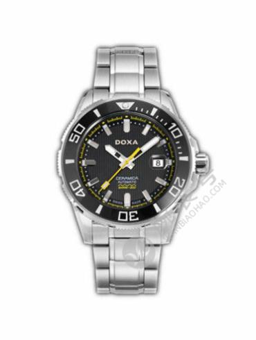 时度Shark 深潜303系列D127SBY银色表带