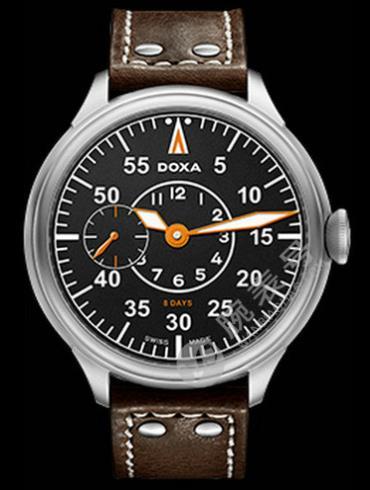Doxa时度八日链腕表系列125.10SB.105.02男表棕色表带