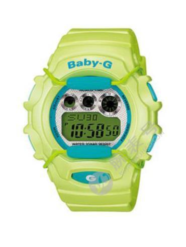 CASIO卡西欧BABY-G经典系列BG-1006SA-3D蓝色表盘