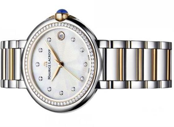 艾美手表表带怎么弄短?