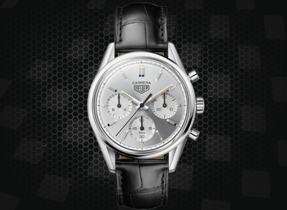 TAG Heuer(泰格豪雅)Carrera 160 Years Silver Limited Edition