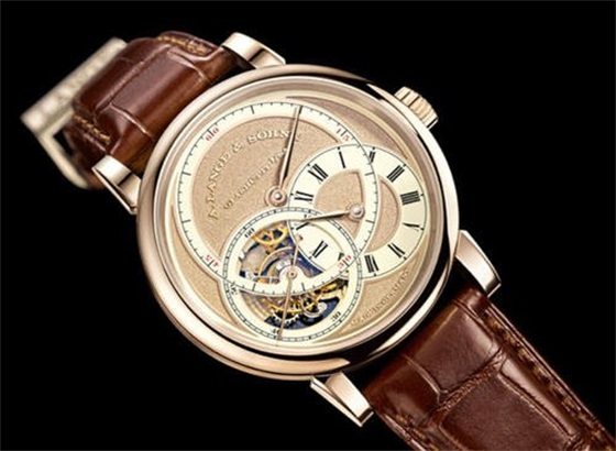 朗格芝麻链手表