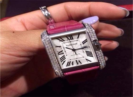 卡地亚手表钻石表