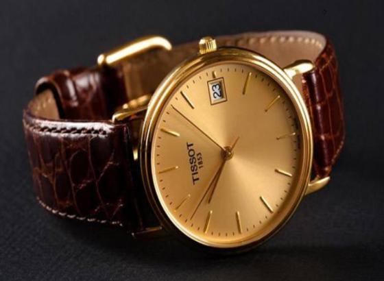 天梭手表Traditionnelle密陀飞轮计时码