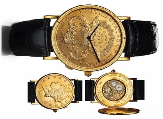 昆仑金币手表