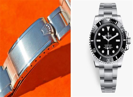 劳力士(Rolex)的折叠的链环和表扣
