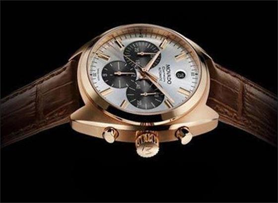 摩凡陀带有月相复杂功能的手表