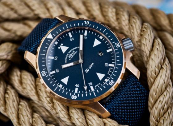 格拉苏蒂(MühleGlashütte)用新的游艇计时器深入青铜