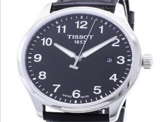 天梭运动绅士XL经典石英男士手表
