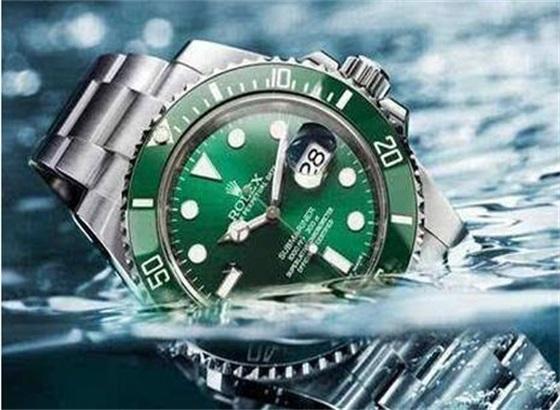 劳力士手表表盘防水