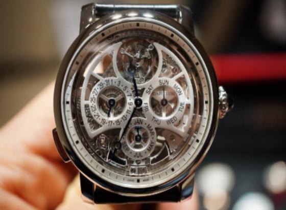 卡地亚Rotonde De Cartier Grande复杂功能腕表9406 MC型机芯