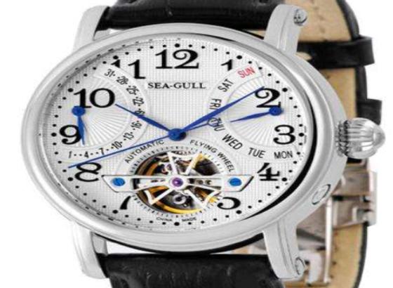 如何更换海鸥手表的表冠?