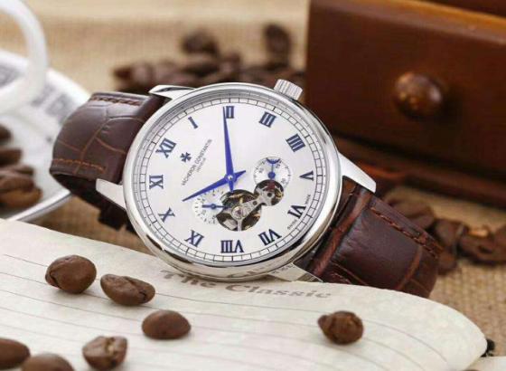 江诗丹顿手表两款全新超薄万年历