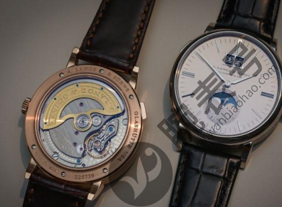 朗格手表表带更换方法