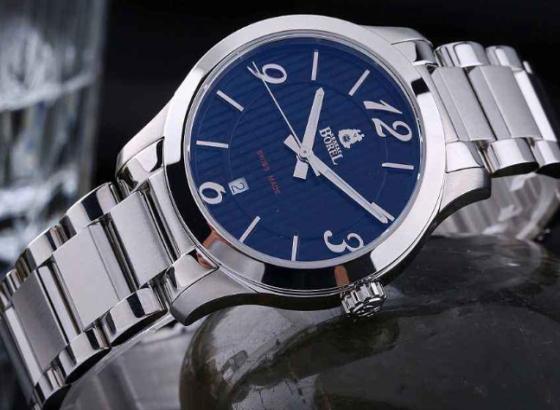 依波路腕表如何设置时间和日期?