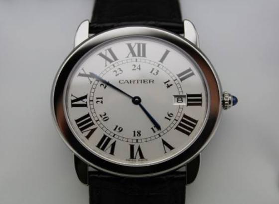 卡地亚手表表把脱落怎么办