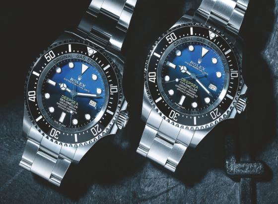 回顾劳力士(rolex)Deepsea D-Blue