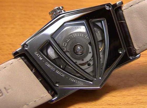 汉米尔顿腕表受磁处理