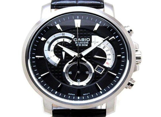卡西欧手表怎么调时间?