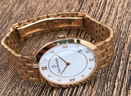 宝齐莱腕表如何维修不锈钢石英表