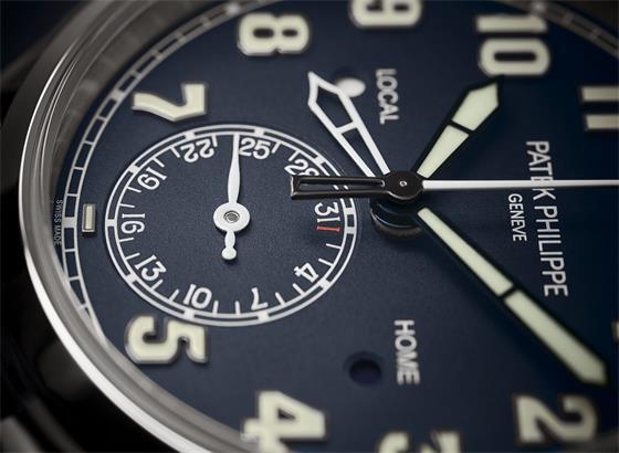 百达翡丽飞行员旅行时间参考腕表
