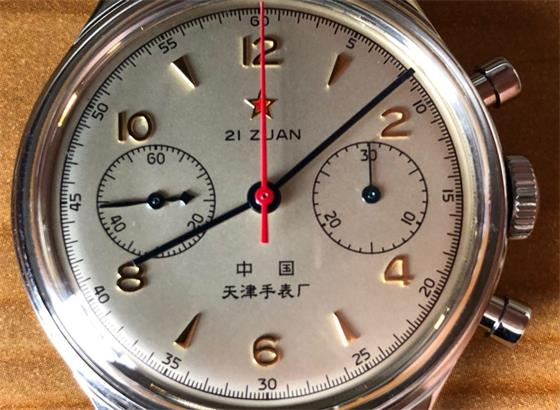 海鸥1963 D304计时码表