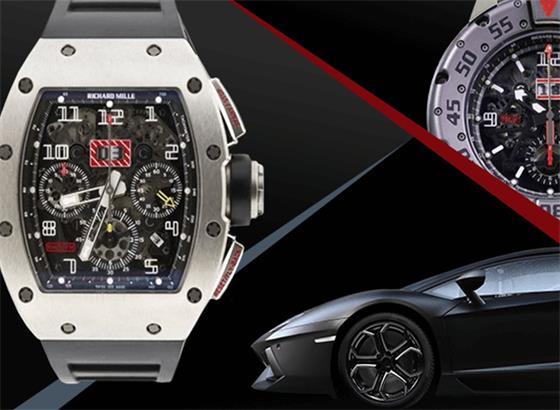 里查德米尔(Richard Mille)和兰博基尼(Lamborghini)