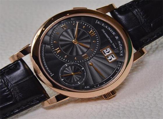 朗格自动手表不上链