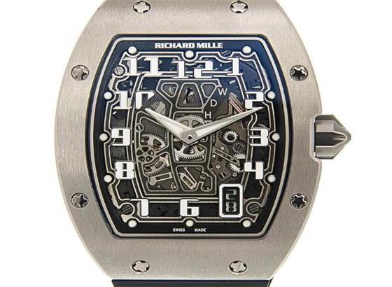如何设定里查德米尔腕表时间和日期