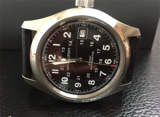 如何清洁不锈钢汉米尔顿手表