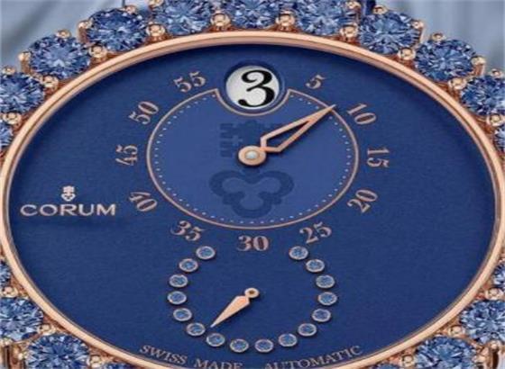 昆仑石英手表上的秒针