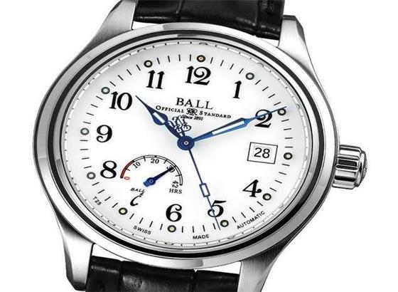波尔腕表发条自动上弦手表?