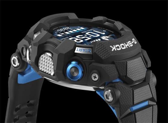 卡西欧发布首款由Google WearOS提供支持的G-Shock智能手表