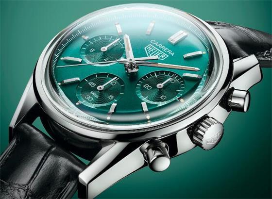 豪雅发布Carrera Green特别版:蓝绿色美人!