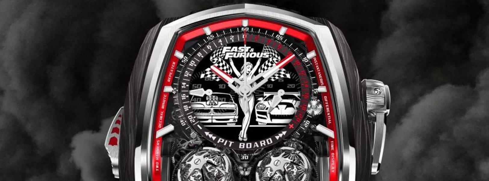 速度与激情里有832个零件的涡轮增压腕表