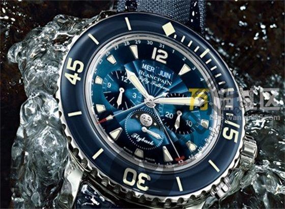 关于宝珀手表的防水性