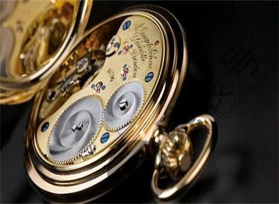 朗格手表更换摆锤轴