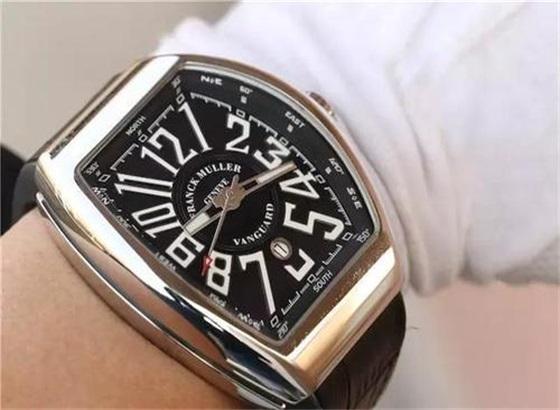 如何更换法穆兰穆勒手表水晶垫片